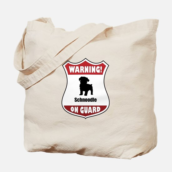 Schnoodle On Guard Tote Bag