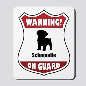 Schnoodle On Guard Mousepad