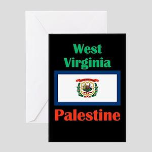 Palestine West Virginia Greeting Cards