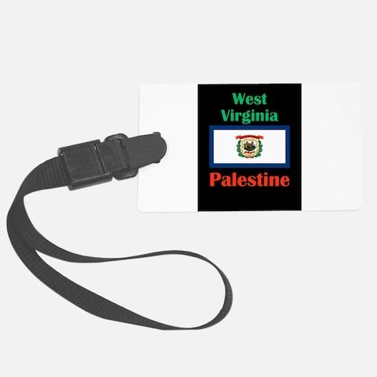 Palestine West Virginia Luggage Tag
