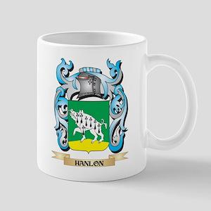 Hanlon Coat of Arms - Family Crest Mugs