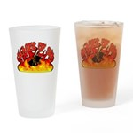 Wages of Sin Drinking Glass