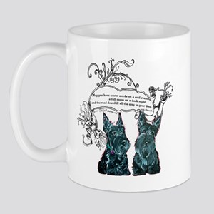 Scottish Terrier Proverb Mug
