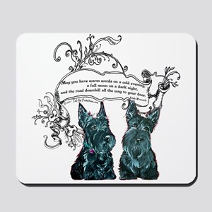 Scottish Terrier Proverb Mousepad