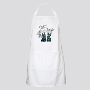 Scottish Terrier Proverb BBQ Apron