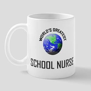 World's Greatest SCHOOL NURSE Mug