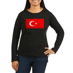 Turkey Turkish Blank Flag T-Shirt