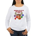 Christmas without my Coastie Women's Long Sleeve T