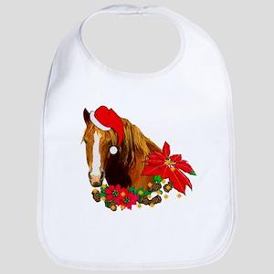 Christmas Horse Bib
