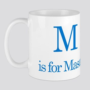 M is for Mason Mug