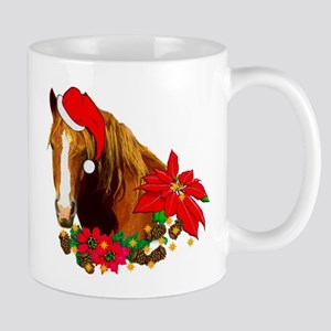 Christmas Horse 11 oz Ceramic Mug