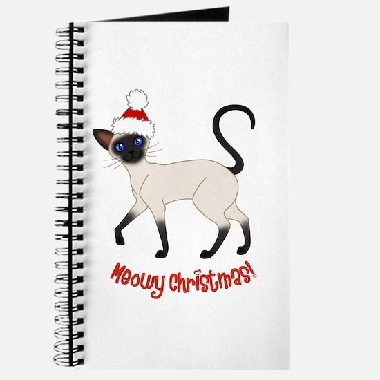 Christmas Siamese Journal