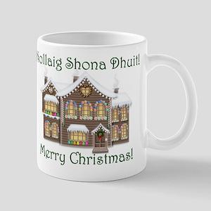 Gaelic Christmas House Mug