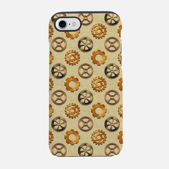COPPER GEARS iPhone 8/7 Tough Case