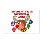 Christmas without my Airman Mini Poster Print