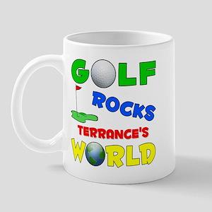 Golf Rocks Terrance's World - Mug