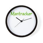 Mantracker 3 Wall Clock