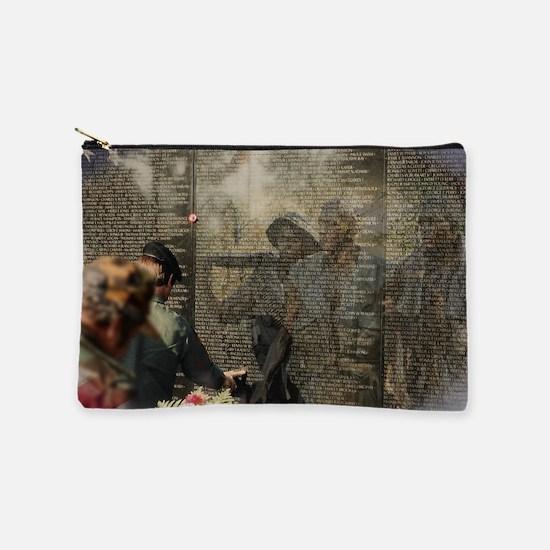 Vietnam Veterans Memorial Makeup Bag
