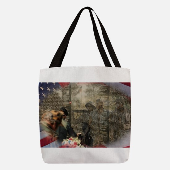 Vietnam Veterans Memorial Polyester Tote Bag