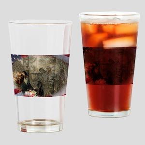 Vietnam Veterans Memorial Drinking Glass