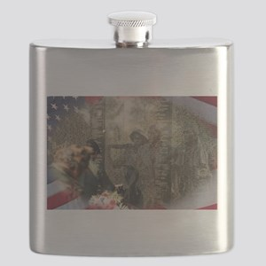 Vietnam Veterans Memorial Flask