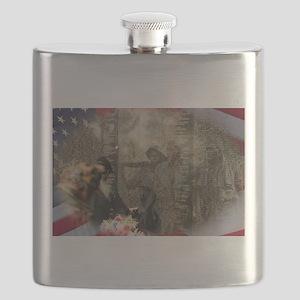 Vietnam Veterans Memorial Flask