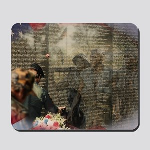Vietnam Veterans Memorial Mousepad