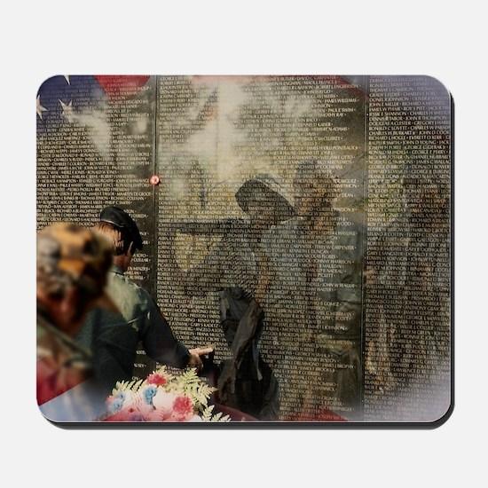 Vietnam Veterans Memorial Mousepad