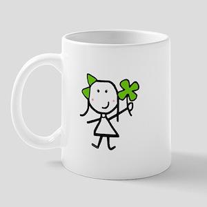Girl & Clover Mug