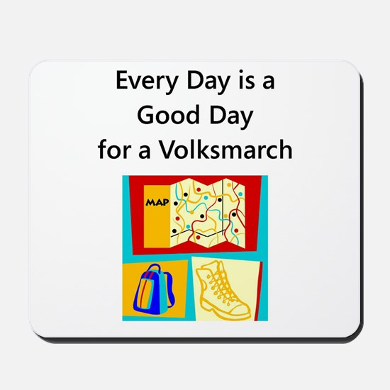 Volksmarch Mousepad