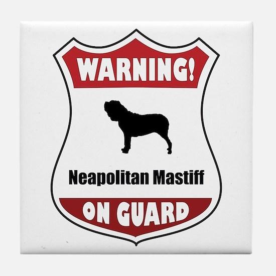 Neo On Guard Tile Coaster