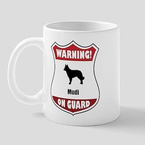 Mudi On Guard Mug