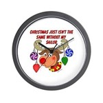 Christmas without my Sailor Wall Clock