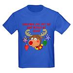 Christmas without my Sailor Kids Dark T-Shirt