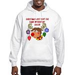 Christmas without my Sailor Hooded Sweatshirt