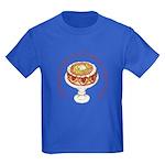A Balanced Diet... Kids Dark T-Shirt