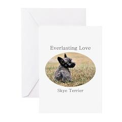 Skye Terrier Puppy - Everlast Greeting Cards (Pk o