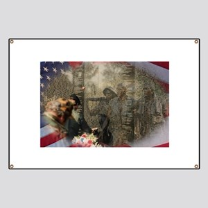 Vietnam Veterans Memorial Banner