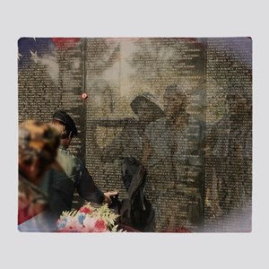 Vietnam Veterans Memorial Throw Blanket