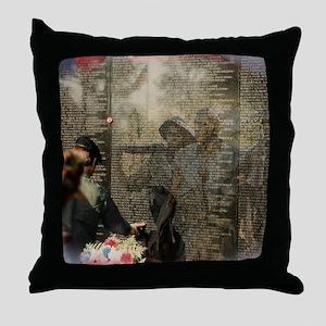 Vietnam Veterans Memorial Throw Pillow