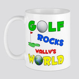 Golf Rocks Wally's World - Mug