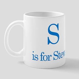 S is for Steve Mug