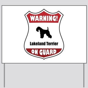 Lakeland On Guard Yard Sign