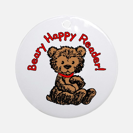 Beary Happy Ornament (Round)