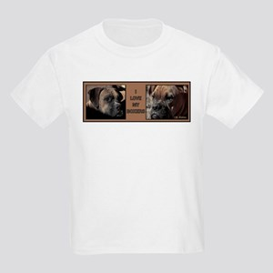 I love my Boxers- Two Kids T-Shirt