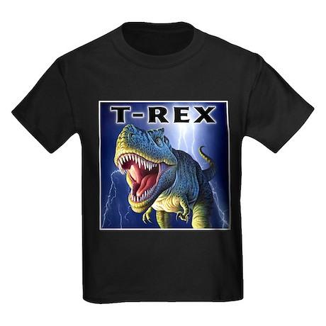 T-Rex 3 Kids Dark T-Shirt