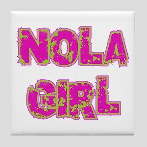 NOLA Girl Tile Coaster