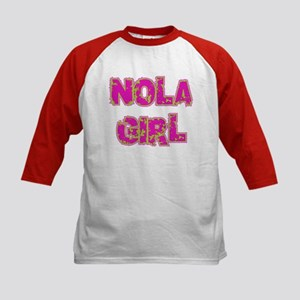 NOLA Girl Kids Baseball Jersey