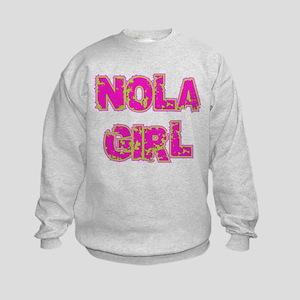 NOLA Girl Kids Sweatshirt