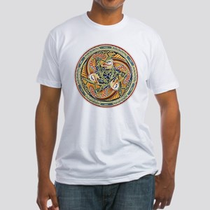 Celtic Fish Fitted T-Shirt